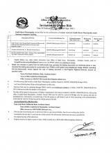 Invitation for online Bids   Date of Publication: 20/05/2078 (05 Sept. 2021)